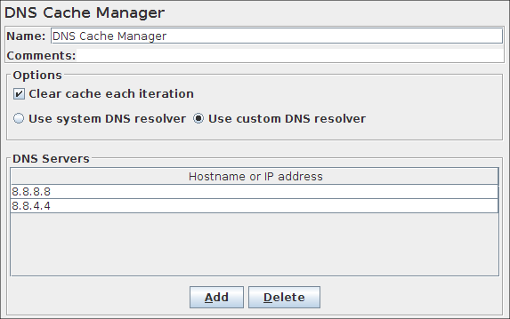 DNS Cache Manager