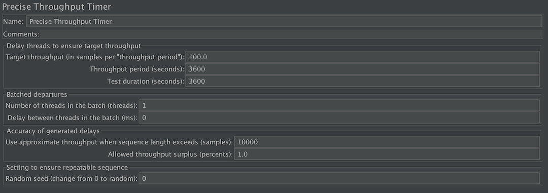 Apache JMeter - History of Previous Changes
